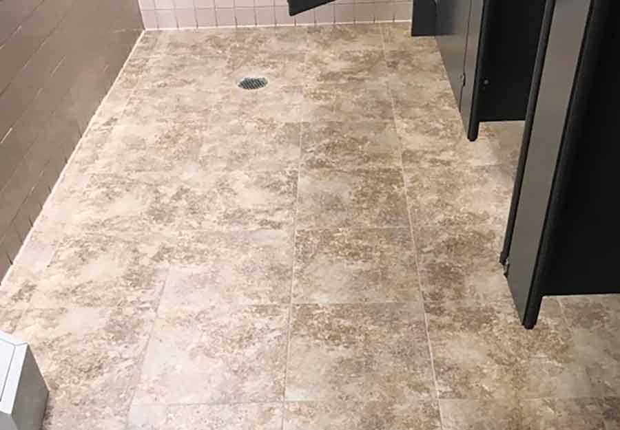 needleman bathroom tile